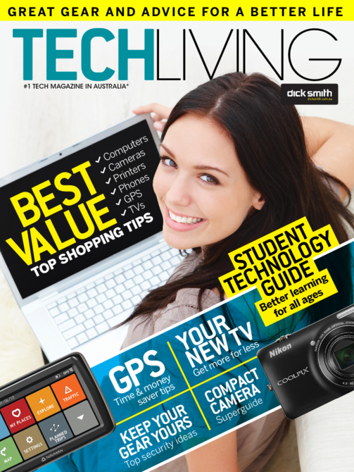 Latest 'Dick Smith Tech Living' Cover
