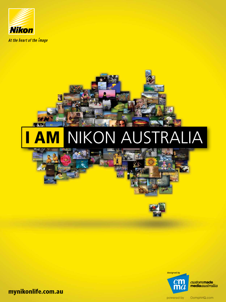Latest 'Nikon Retail Folder' Cover