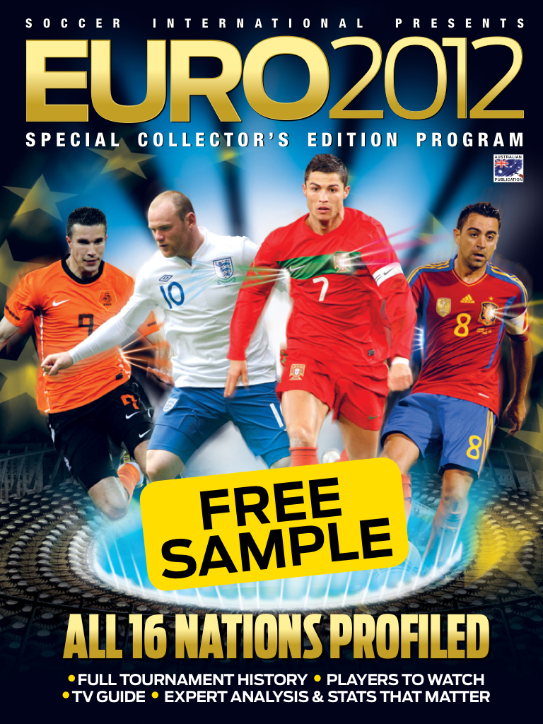 Latest 'Soccer Int. EURO 2012 Program' Cover