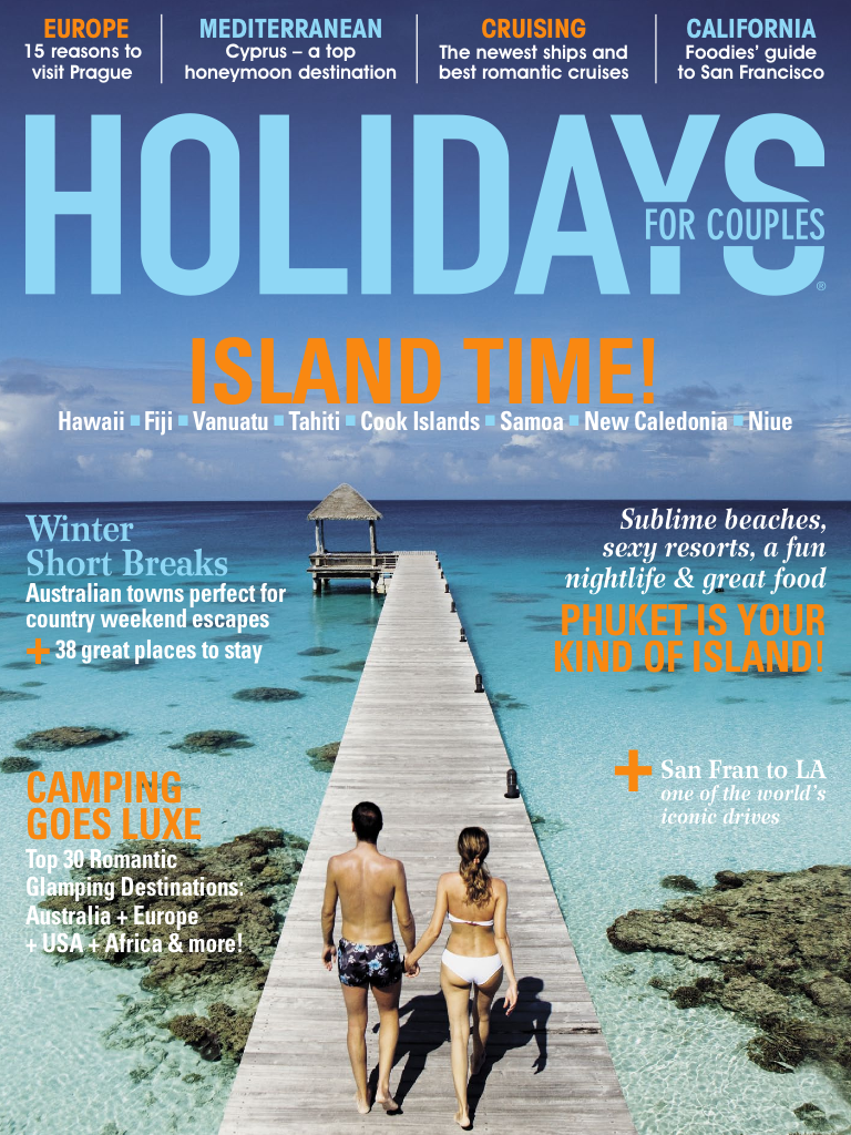 Latest 'Holidays for Couples' Cover