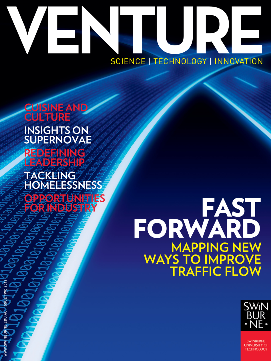 Latest 'Venture Magazine, Swinburne University Of Technology' Cover