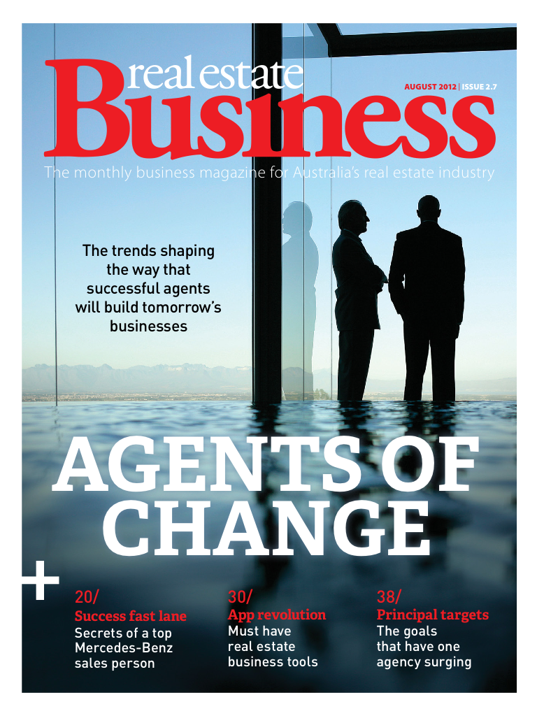 Latest 'Real Estate Business' Cover