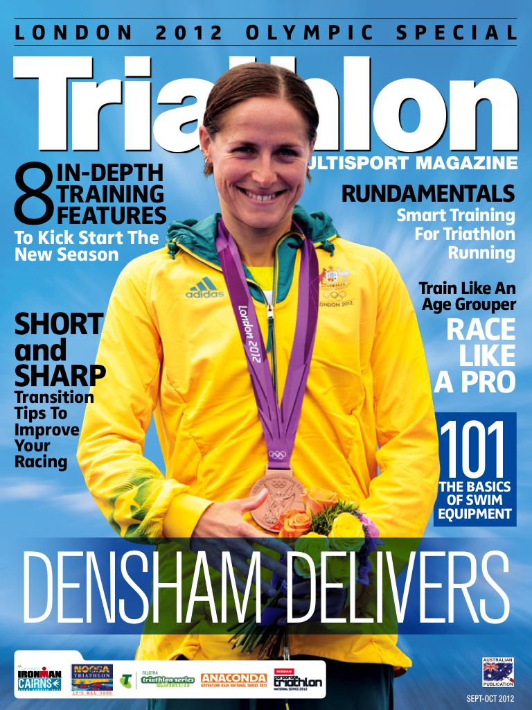 Latest 'Triathlon &amp; Multi Sport mag' Cover