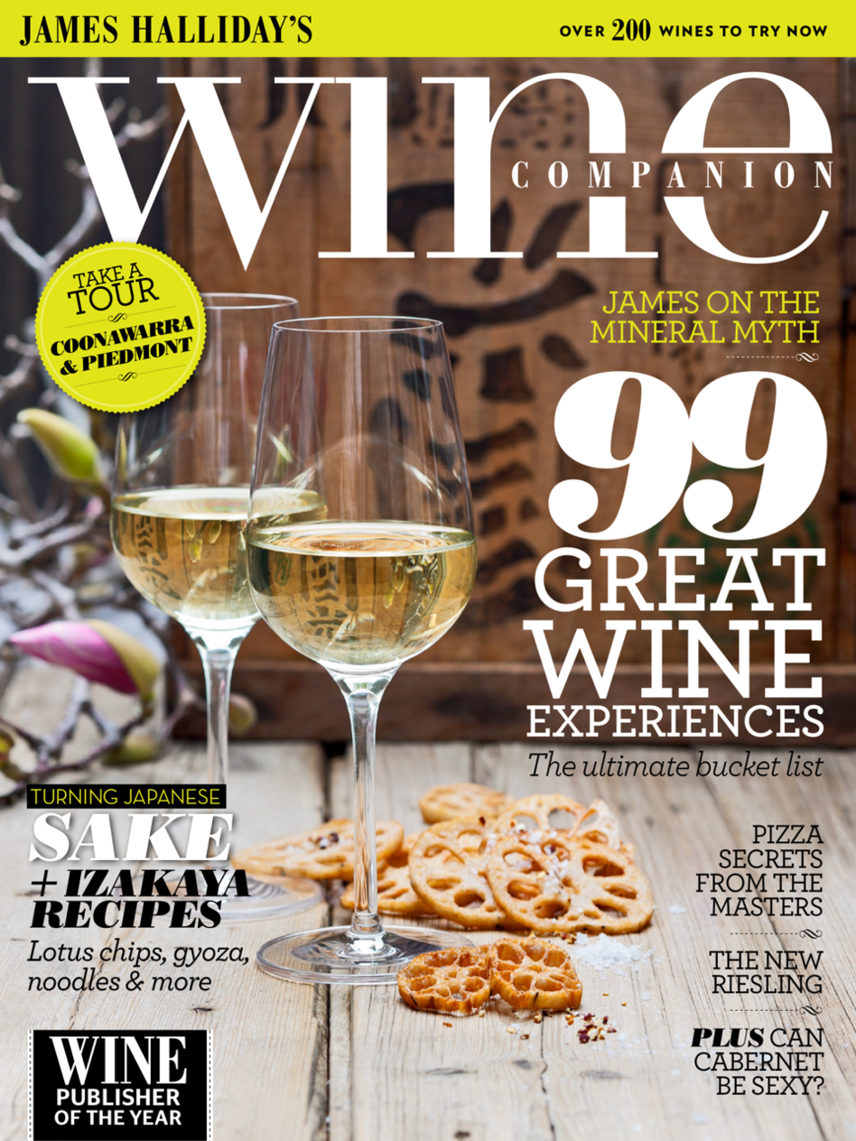 Latest 'JH Wine Companion Mag' Cover