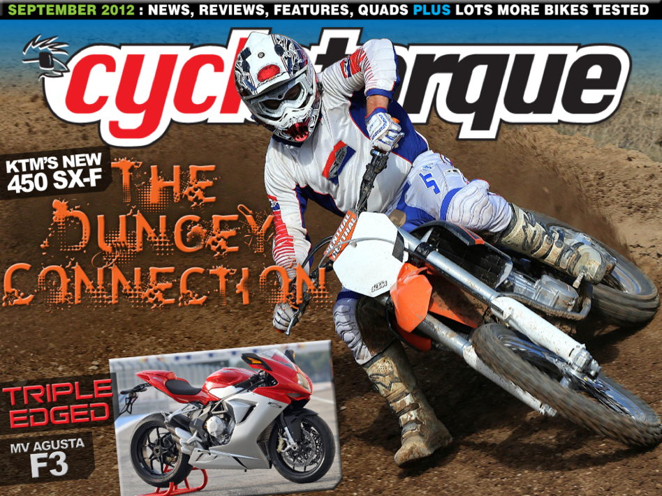 Latest 'Cycle Torque' Cover