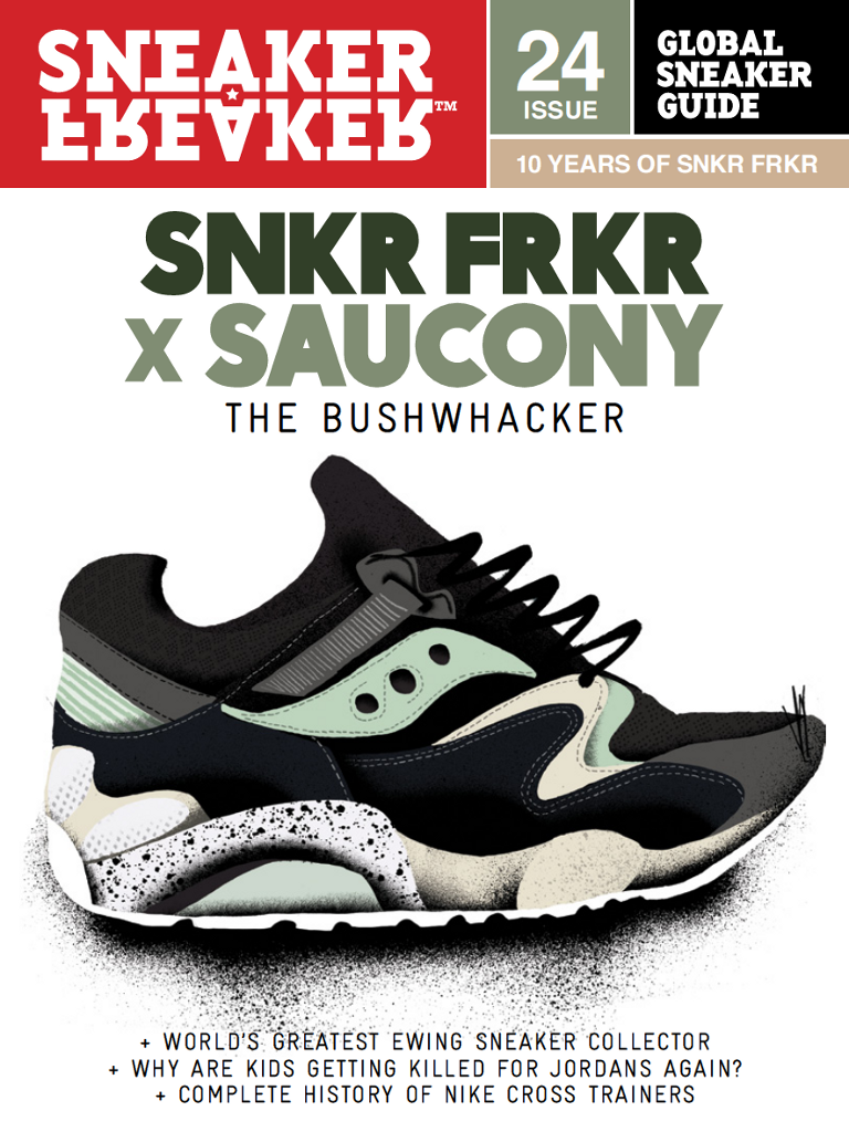 Latest 'Sneaker Freaker' Cover