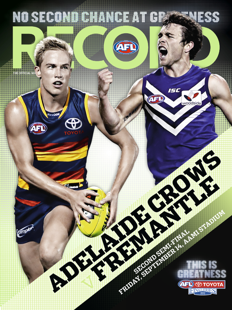 Latest 'AFL Record' Cover