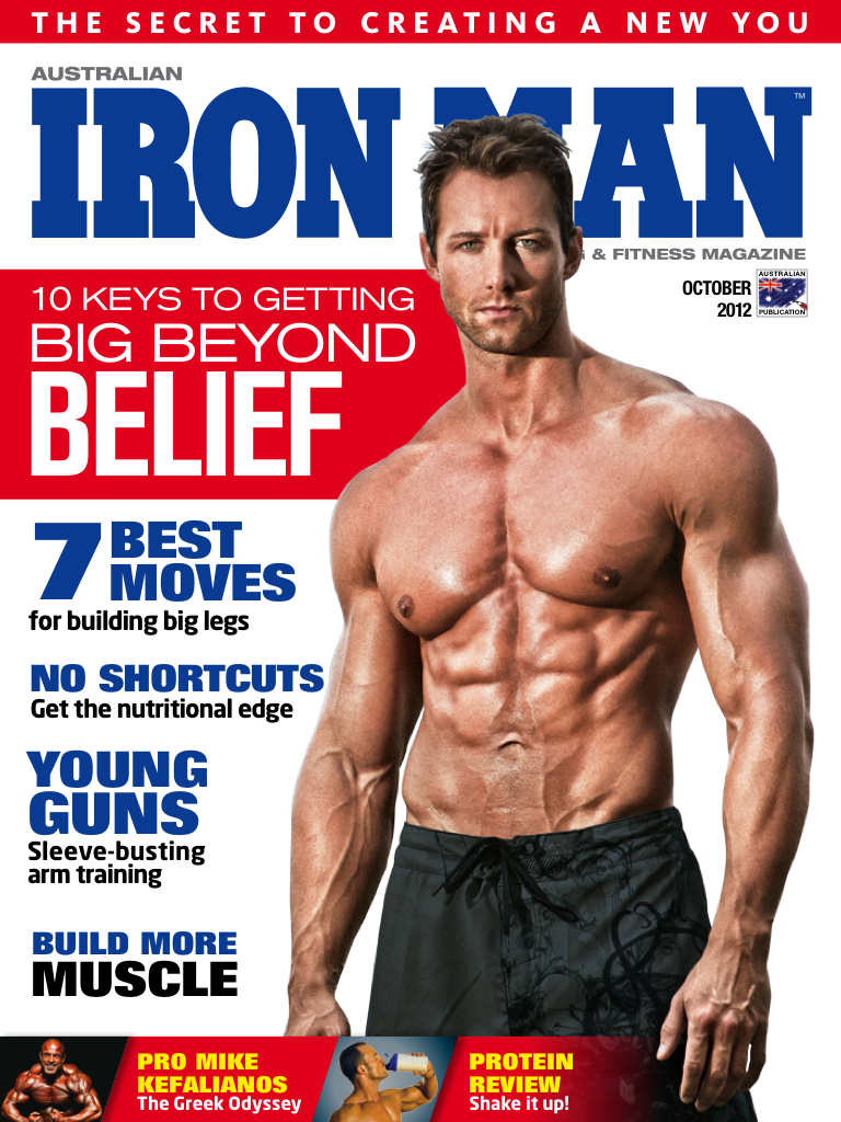 Latest 'Australian Ironman Magazine' Cover