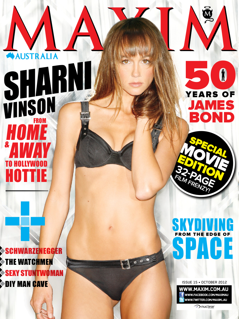 Latest 'Maxim Australia' Cover